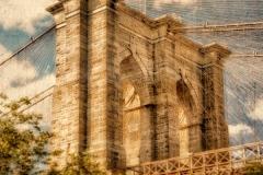 DAS-289 Brooklyn Bridge Distressed 16x16