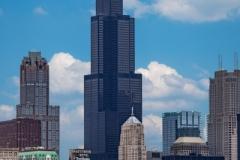 DAS-372E Chicago Skyline Willis Tower